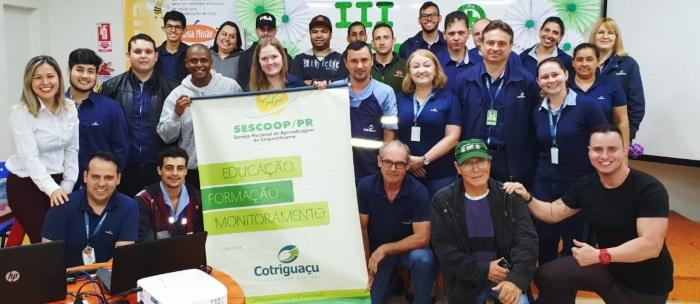 Palestra Motivacional Integrada da Cooperativa Cotriguaçu