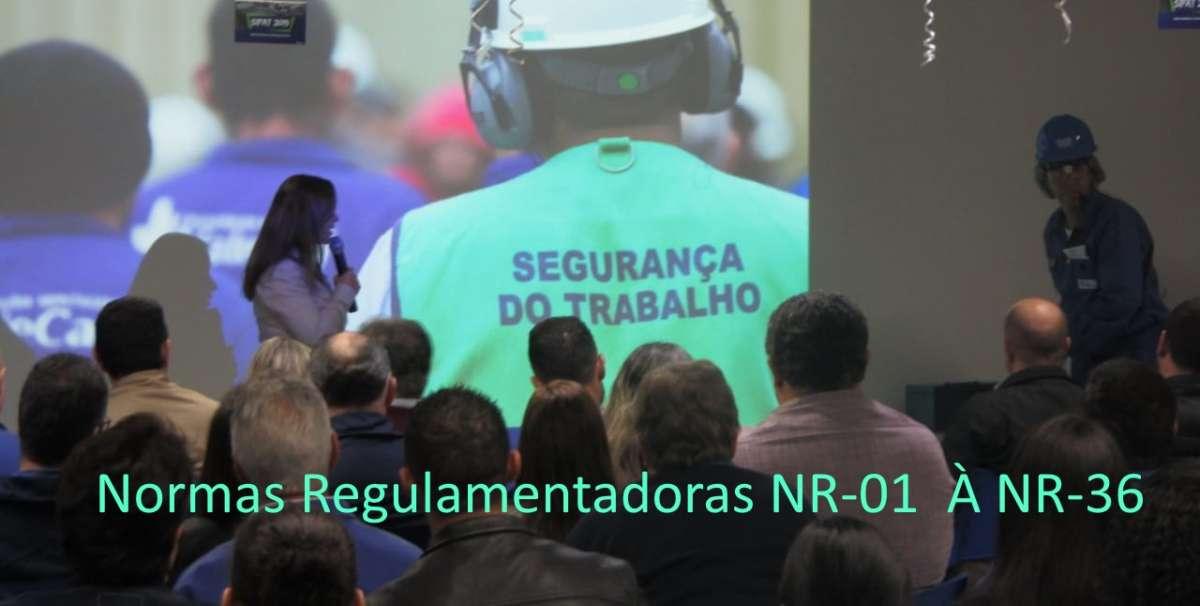 Normas Regulamentadoras NR 01 a NR 36